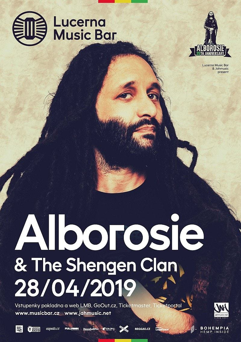 Alborosie & The Shengen Clan live in Prague